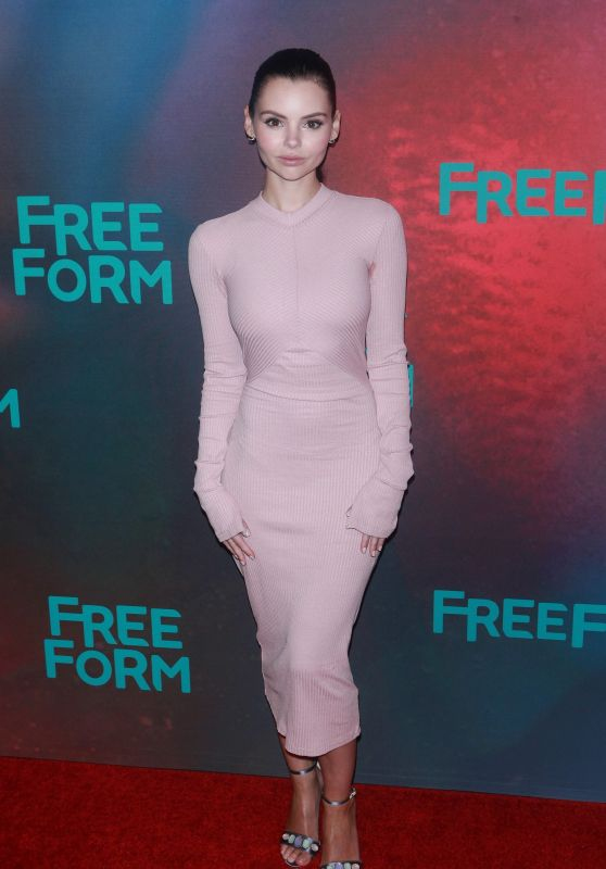 Eline Powell – Freeform Upfront in New York 4/19/2017