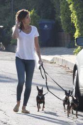 Elisabetta Canalis - Walk in Beverly Hills 4/7/2017