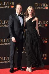 Elize Du Toit on Red Carpet at Olivier Awards 2017 in London