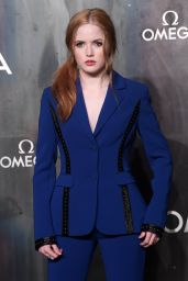 "Ellie Bamber - ""Lost in Space"" Anniversary Party in London, UK 04/26/2017"