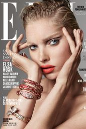 Elsa Hosk - ELLE Magazine US, May 2017 Cover