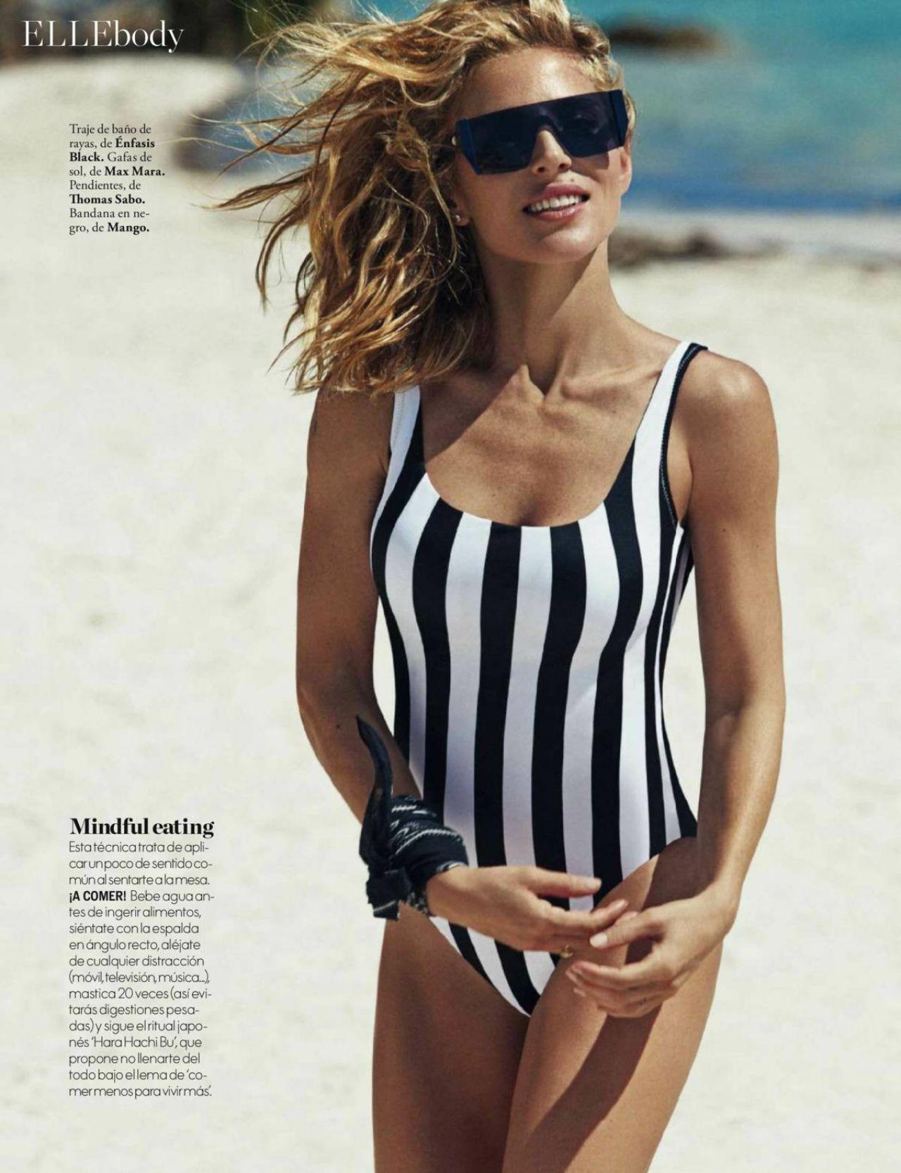Elsa Pataky Elle Magazine Spain May 2017 Issue