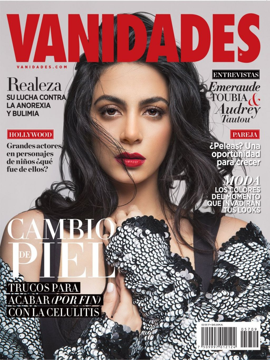 Emeraude Toubia Vanidades Magazine April 2017 Issue