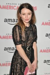 "Emily Browning - ""American Gods"" Premiere in London 4/6/2017"