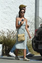 Emily Ratajkowski - Lunch at the Dinette Cafe in LA 4/23/2017