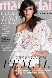 Emily Ratajkowski - Marie Claire Magazine, May 2017 Cover and Photo