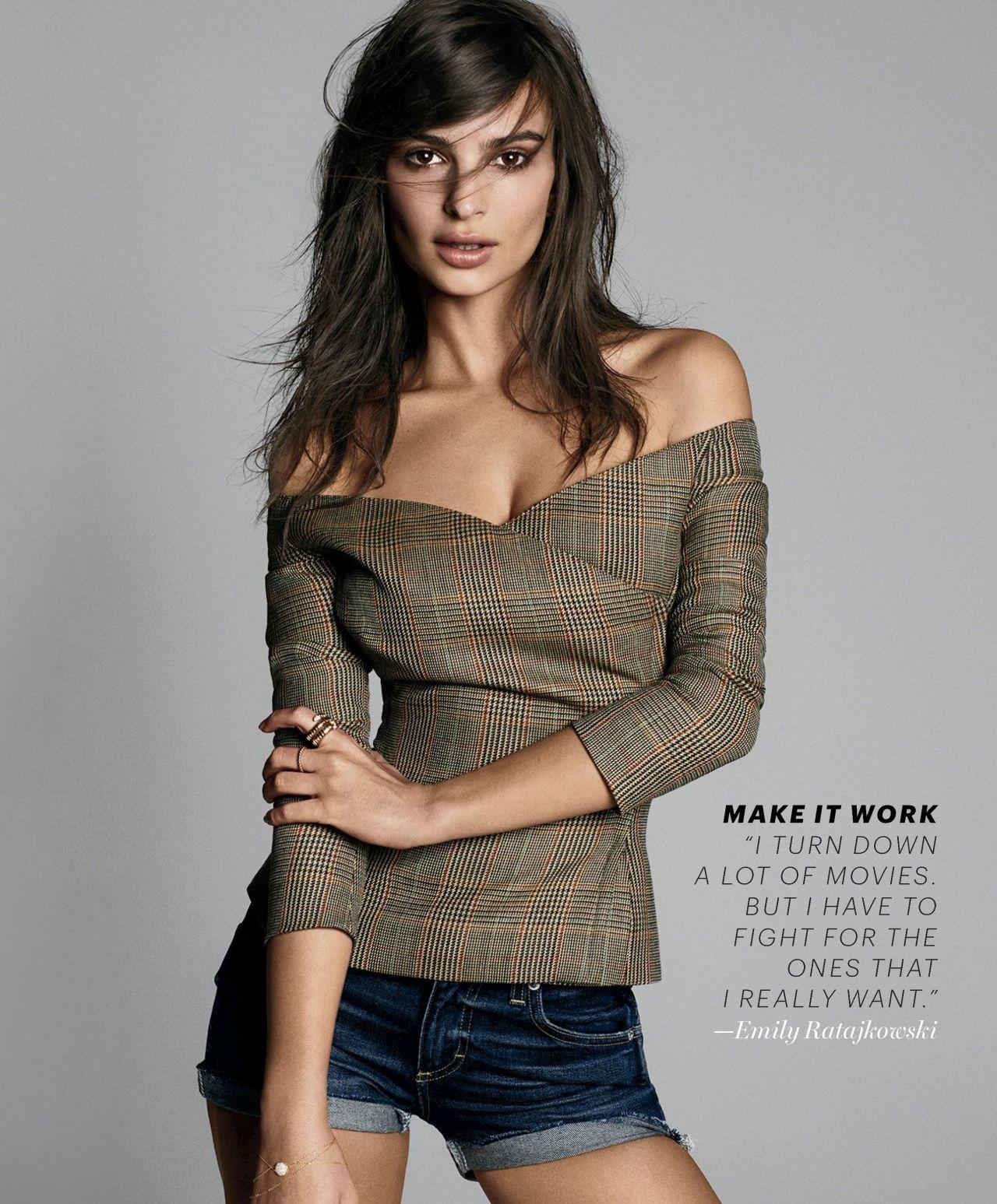 Emily Ratajkowski - Marie Claire May 2017 Issue