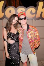 Emily Ratajkowski - Moschino Candy Crush Desert Party in Corona Yacht Club, Coachella 4/15/2017