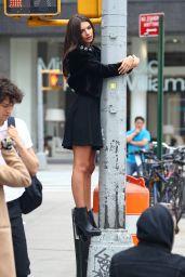Emily Ratajkowski - Photoshoot for DKNY in New York 4/24/2017