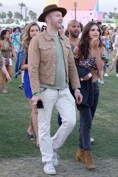 Emily Ratajkowski With Friends at Coachella in Indio 4/14/2017