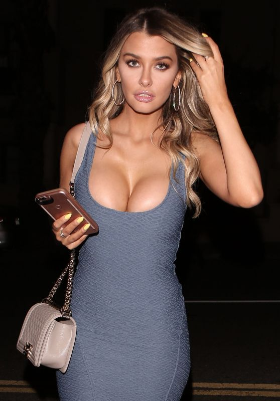 Emily Sears in a Skin Tight Boxum Dress and Heals in West Hollywood 4/5/2017