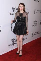 Emma Roberts - Dabka Premiere at TFF in New York 04/27/2017