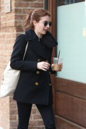 Emma Roberts - Out and About Tribeca in NY 4/2/2017