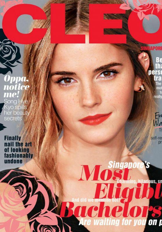 Emma Watson - Cleo Madgazine Singapore May 2017 Issue