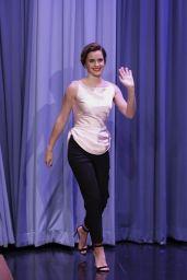Emma Watson - The Tonight Show Starring Jimmy Fallon in New York 04/27/2017