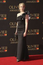 Emma Williams On Red Carpet – Olivier Awards in London 4/9/2017
