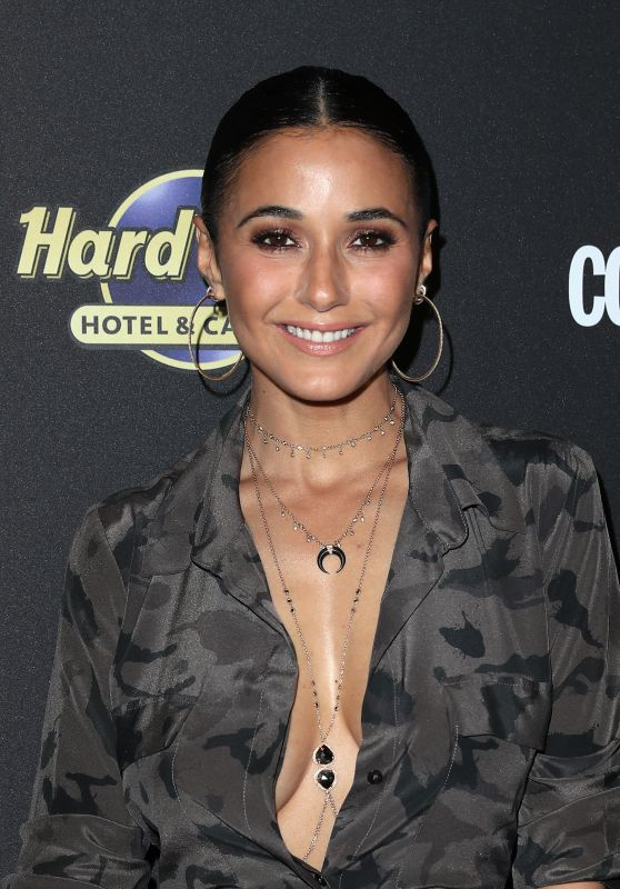 "Emmanuelle Chriqui - ""Magic Mike Live Las Vegas"" Opening Night at Hard Rock Hotel & Casino Las Vegas 4/21/2017"