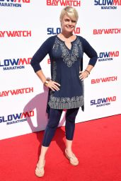 Erika Eleniak - Baywatch Casts Hosts the Slomo Marathon in Los Angeles 4/22/2017