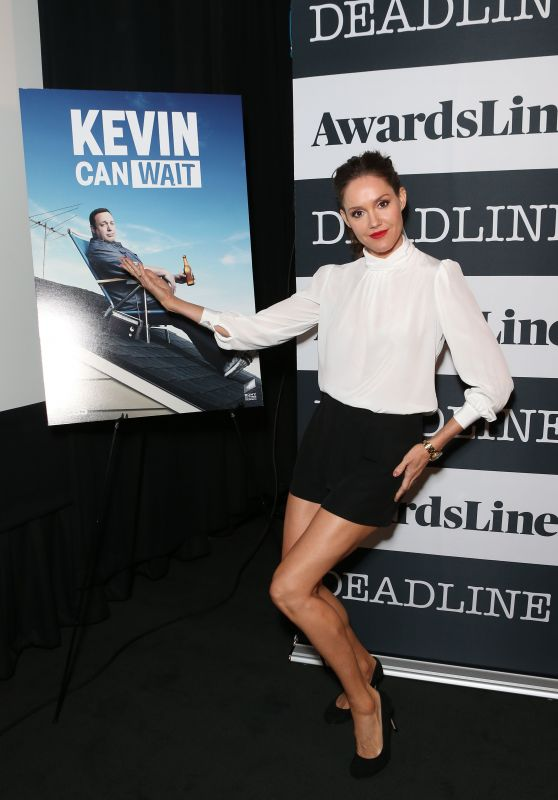 "Erinn Hayes - ""Kevin Can Wait"" Awardsline Emmy Screenings in LA 4/19/2017"
