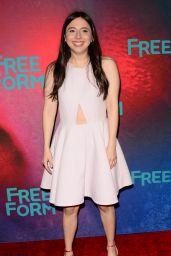 Esther Povitsky at Freeform Upfront in New York 4/19/2017
