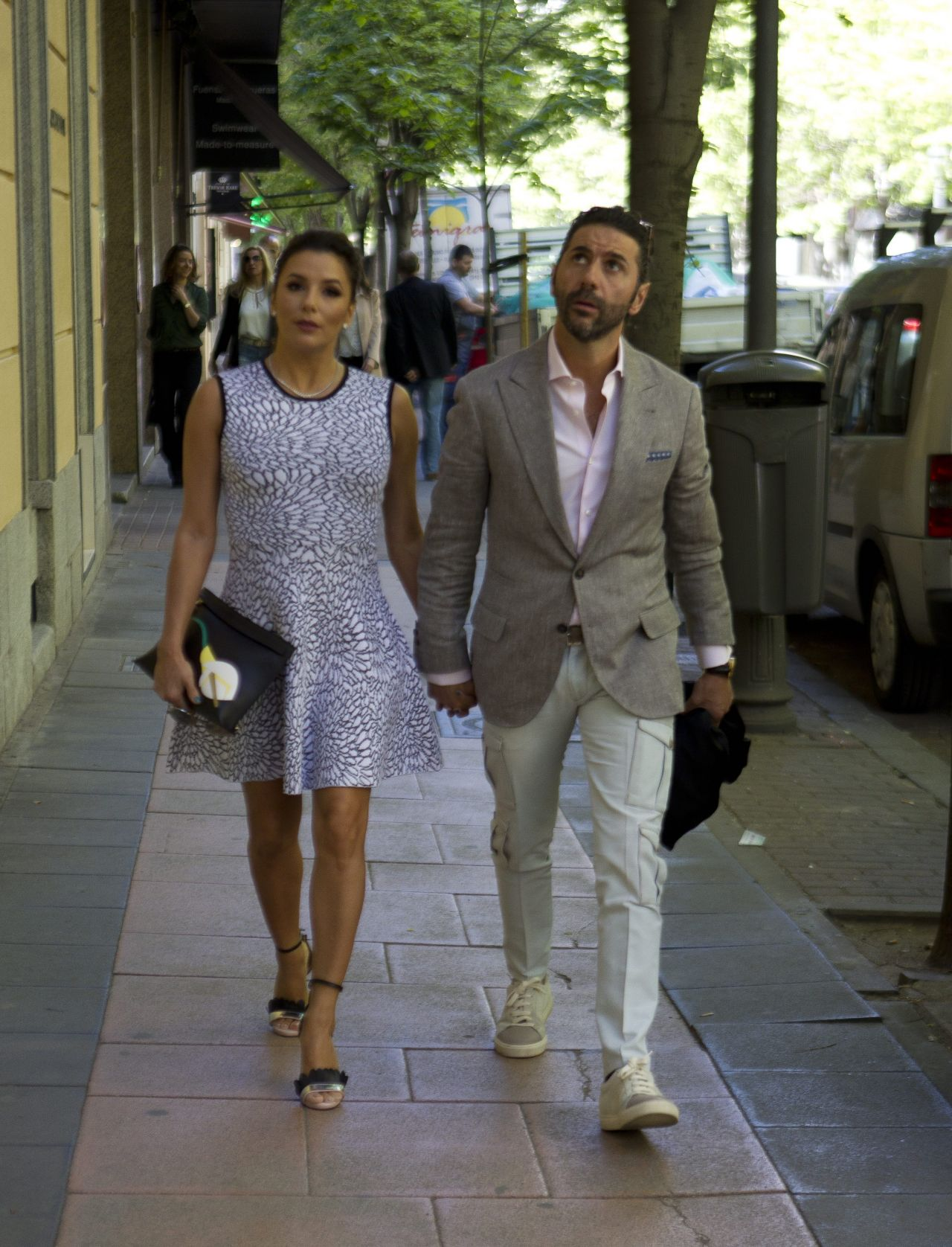 Eva Longoria And Her Husband José Bastón - Out in Madrid 4 ...