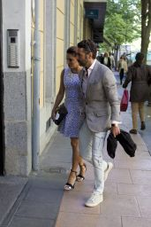 Eva Longoria And Her Husband José Bastón - Out in Madrid 4/4/2017