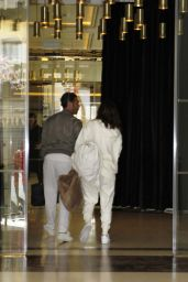 Eva Longoria and Jose Antonio Baston - Arrive at Their Hotel in Madrid 4/3/2017