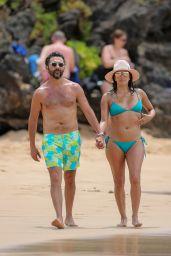 Eva Longoria in a Bikini - Miami Beach 4/20/2017