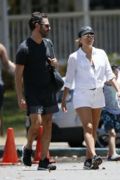 Eva Longoria With Husband Jose Baston in Honolulu 4/19/2017