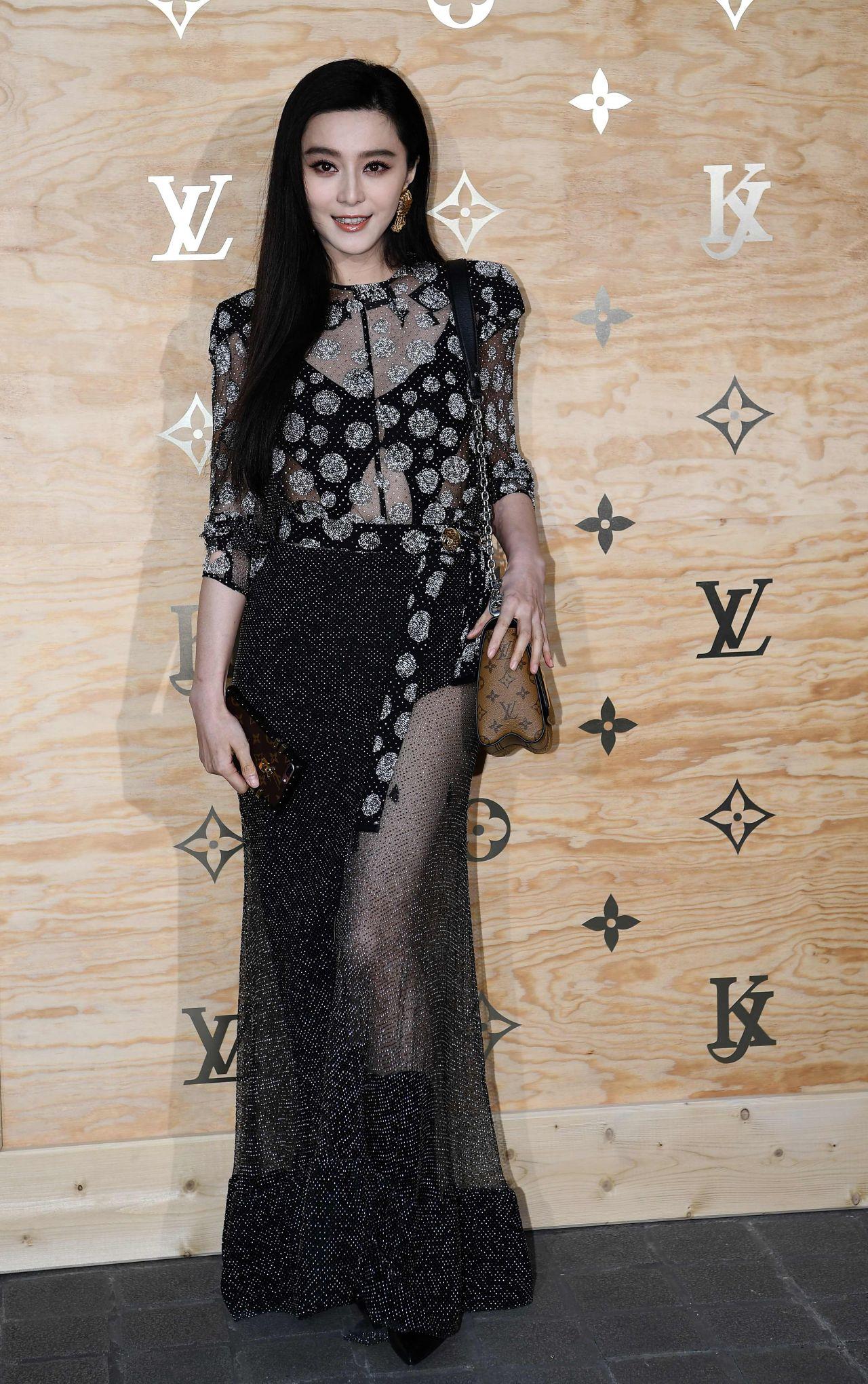 Fan Bingbing At Louis Vuitton Dinner Party Louvre In
