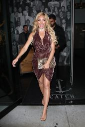 Farrah Abraham Dine at Catch LA in Hollywood 4/18/2017