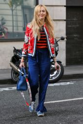Fearne Cotton - Arriving at BBC Radio 2 Studios in London 4/11/2017