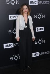 """Fiona Dourif - """"The Son"""" TV Show Premiere in Los Angeles 4/3/2017"""
