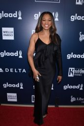 Garcelle Beauvais at GLAAD Media Awards 2017 in Los Angeles