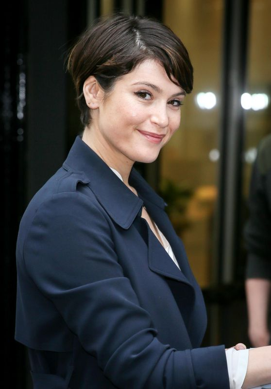 "Gemma Arterton - Promoting ""Their Finest"" on Chris Evans BBC Radio Two Breakfast Show in London 4/21/2017"