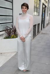 Gemma Arterton Style - Out in London 4/11/2017