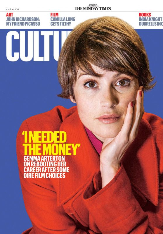 Gemma Arterton - The Sunday Times Culture April 2017 Issue