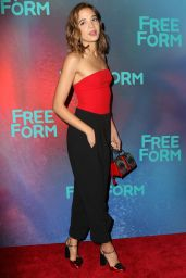 Georgie Flores at Freeform Upfront in New York 4/19/2017