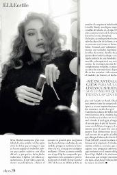Gigi Hadid - Elle Magazine Spain May 2017 Issue