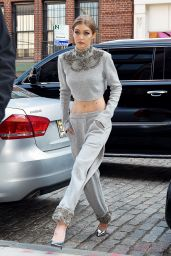 Gigi Hadid is Stylish - Out in NYC, April 2017