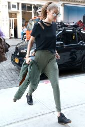 Gigi Hadid - Out in New York City April 4/10/2017