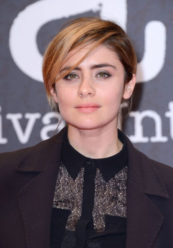 Greta Scarano – Beaune International Thriller Film Festival in France 3/31/2017