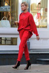 Hailey Baldwin Looks Stylish - New York City 4/28/2017