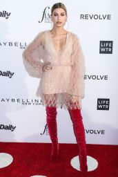 Hailey Baldwin on Red Carpet at Daily Front Row's Fashion Los Angeles Awards 2017