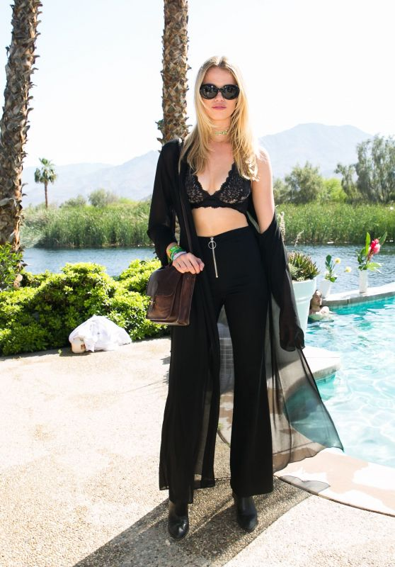 Hailey Clauson – REVOLVE Festival at Coachella in Palm Springs 4/15/2017