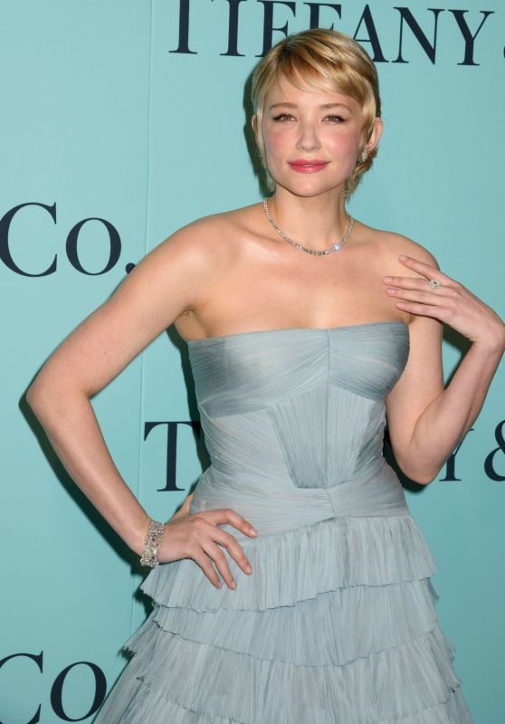 Haley Bennett - Tiffany & Co. - Blue Book Collection Gala in New York City 4/21/2017