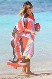 Heidi Klum in Bikini at the Beach on Turks & Caicos Islands 4/6/2017