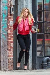 "Hilary Duff - ""Younger"" Set in New York 4/10/2017"