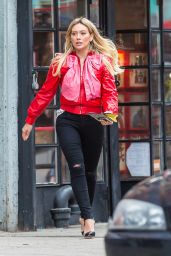 """Hilary Duff - """"Younger"""" Set in New York 4/10/2017"""