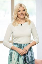 Holly Willoughby - This Morning TV Show in London 04/25/2017